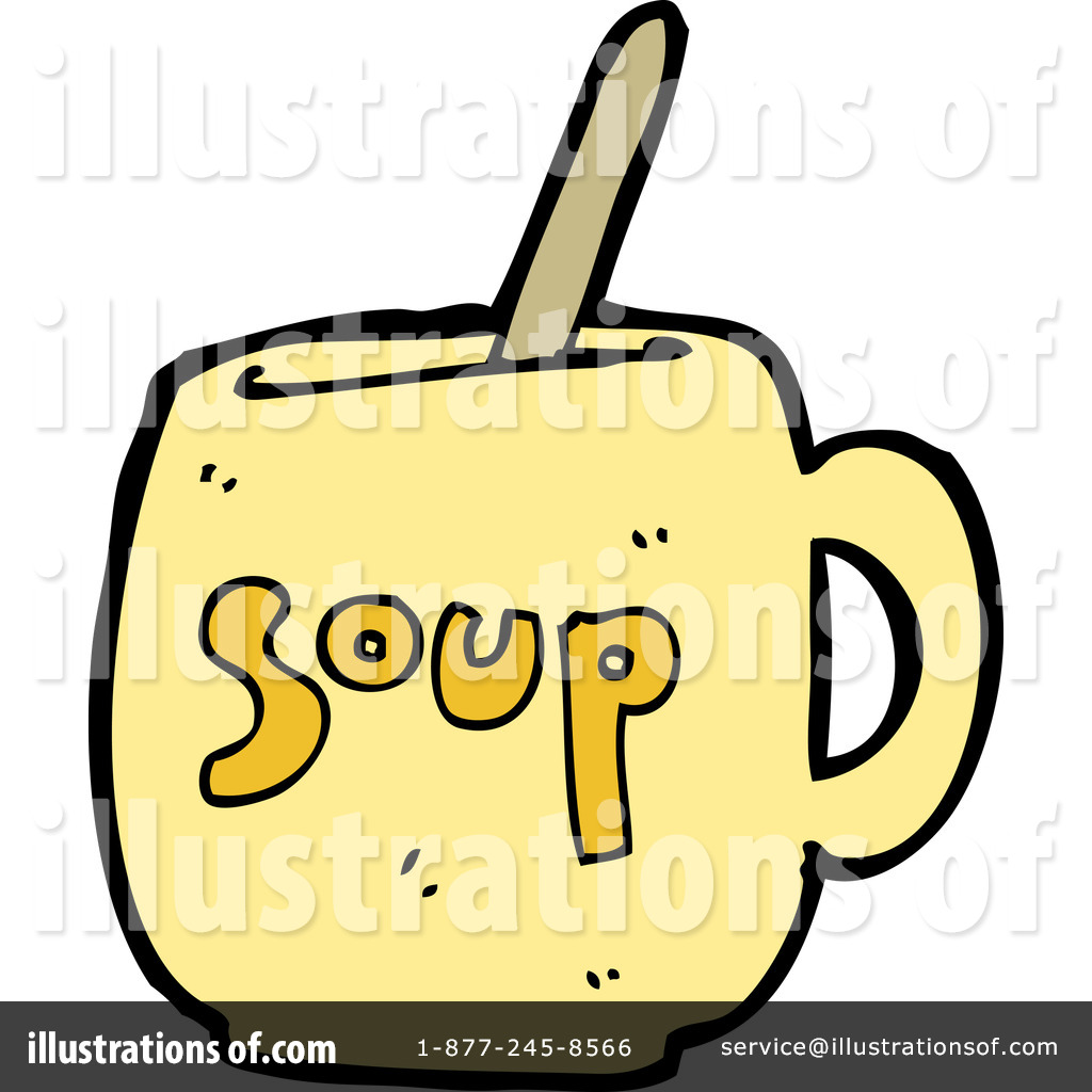 Soup Clipart  1183119 By Lineartestpilot   Royalty Free  Rf  Stock