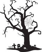 Stock Art  717 Spooky Trees Illustration Graphics And Vector Eps Clip