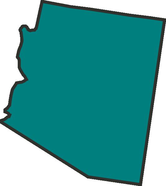 Teal Arizona Clip Art At Clker Com   Vector Clip Art Online Royalty