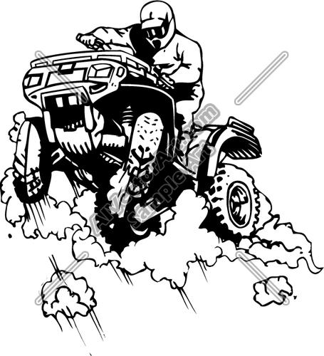 quad bike clipart - photo #43