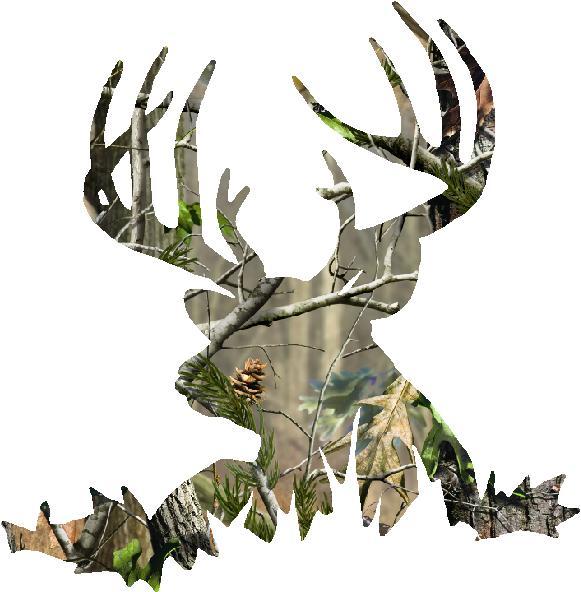 camo deer skull clipart clipart kid