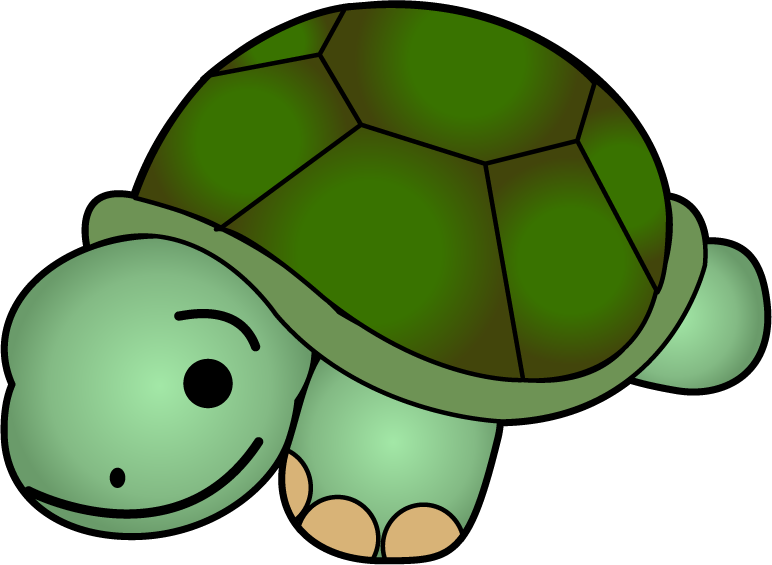 Cute Turtle Clipart Black And White Clipart Panda Free Clipart