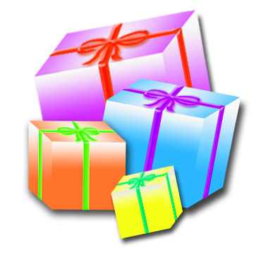 Free Christmas Gift Clipart   Quotes Lol Rofl Com