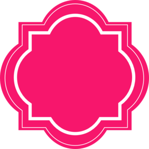 Pink Label Clipart - Clipart Kid