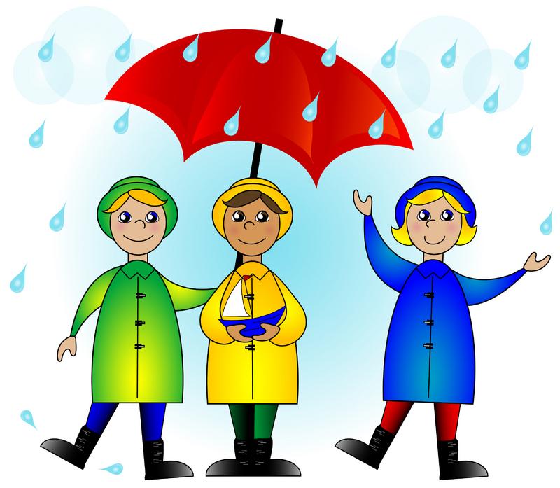 Rainy Day Clipart - Clipart Kid