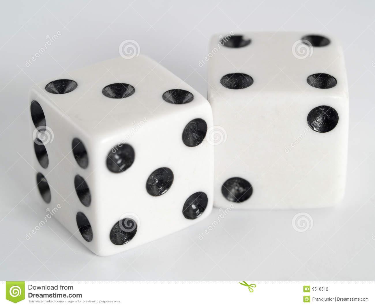 dice 7 dots clipart