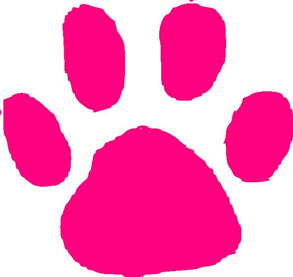 Wildcat Paw Print Clip Art #BmT3kP - Clipart Kid