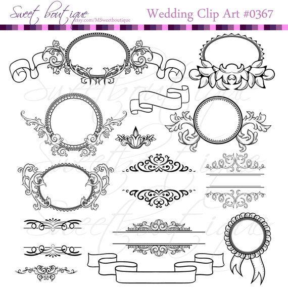 My Wedding Invite Clip Art At Clker Com: Diy Wedding Clipart