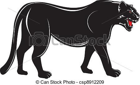 Black Panther Clip Art   Animalgals