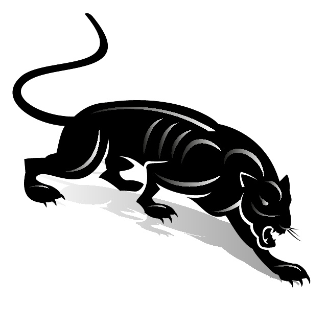 Black Panther Clip Art   Download At Vectorportal