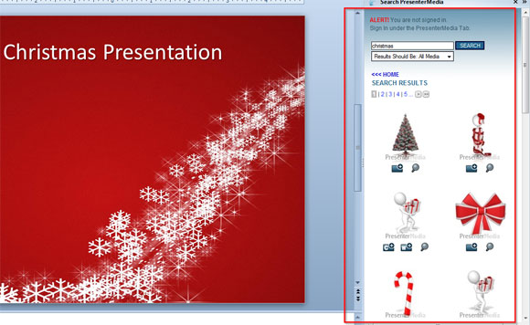 Christmas Powerpoint Template For Free   Powerpoint Presentation