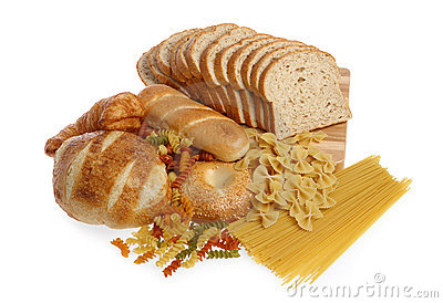 Group Of Bread And Grain Products Royalty Free Stock Image   Image