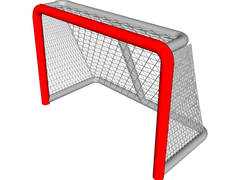 Hockey Net Clipart Vector Hockey Goal Blue