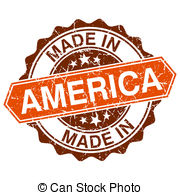 Made In America Illustrations And Clipart  2000 Made In America