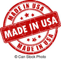 Made In America Vector Clipart And Illustrations