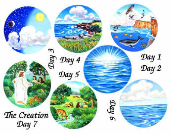 Lds Creation Day 7 Clipart Clipart