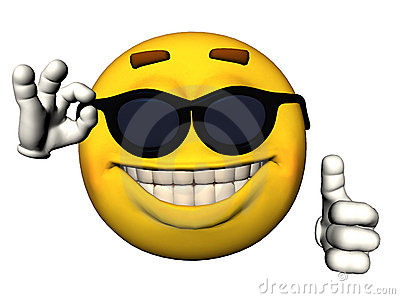 Smiley Face With Thumbs Up Stock Photography   Image  14491322
