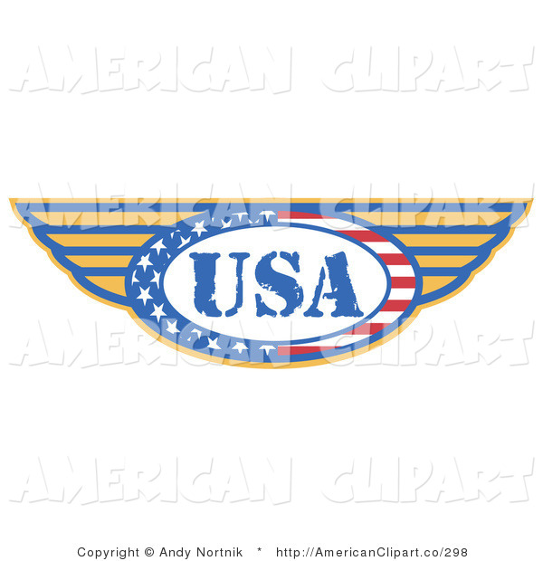 The Usa Made In The United States With Wings By Andy Nortnik    298
