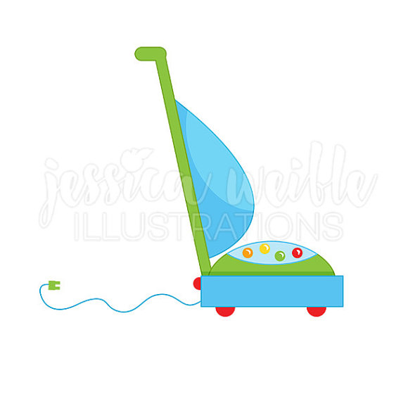 Vacuum Cleaner Cute Digital Clipart Vacuum Clip Art Cleaning