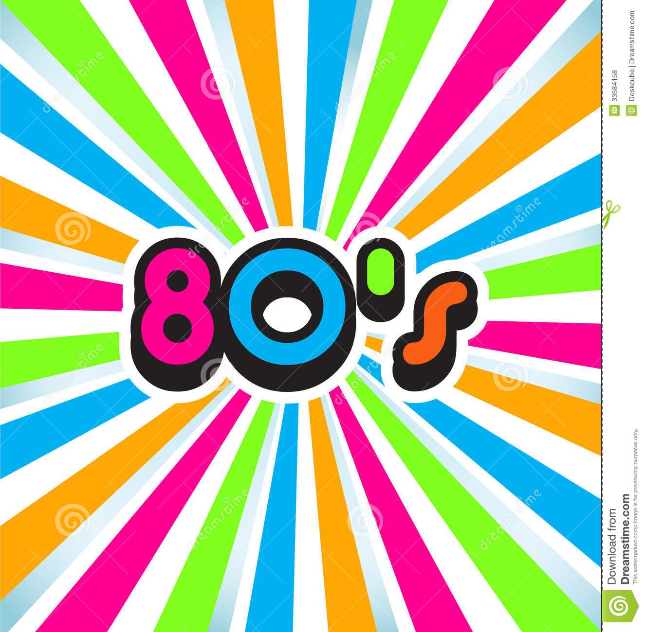 80s Pop Art Background Royalty Free Stock Photos   Image  33684158
