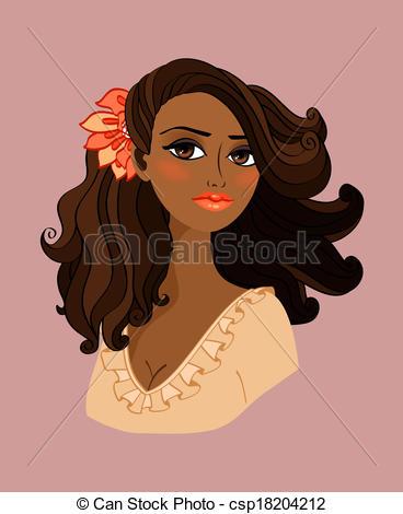 Black Woman Clipart - Clipart Kid