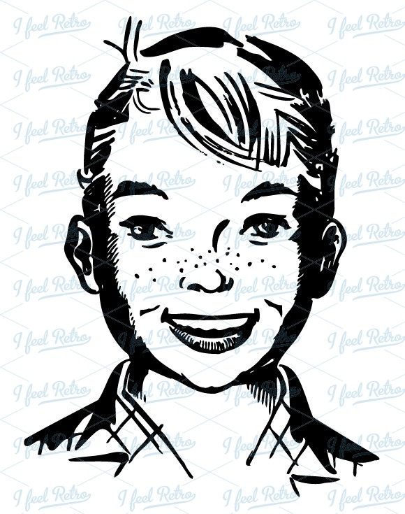 Boy Smiling Clipart