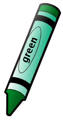 Crayon Green 1   Http   Www Wpclipart Com Education Supplies Crayons