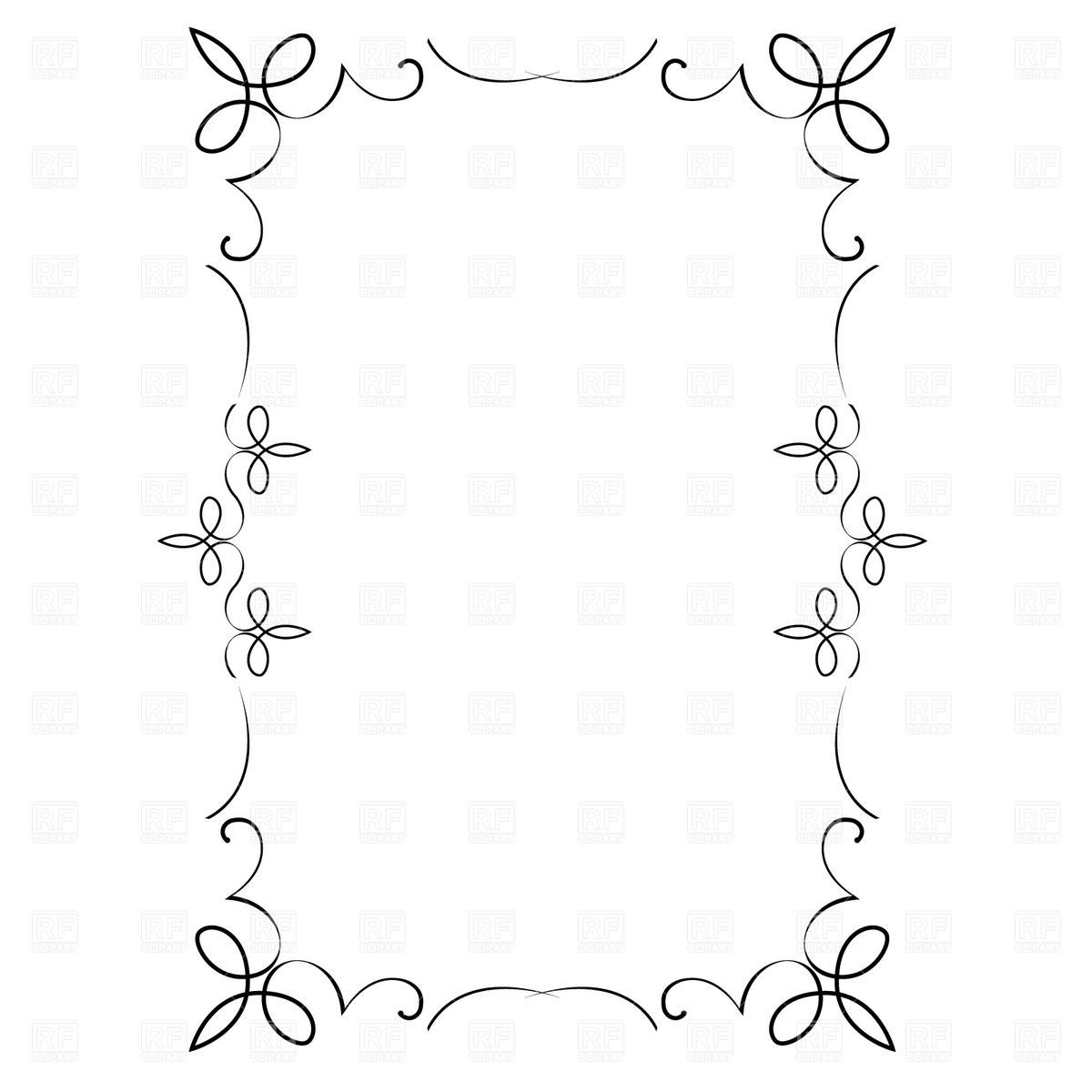 Decorative Frame 4690 Borders And Frames Download Royalty Free