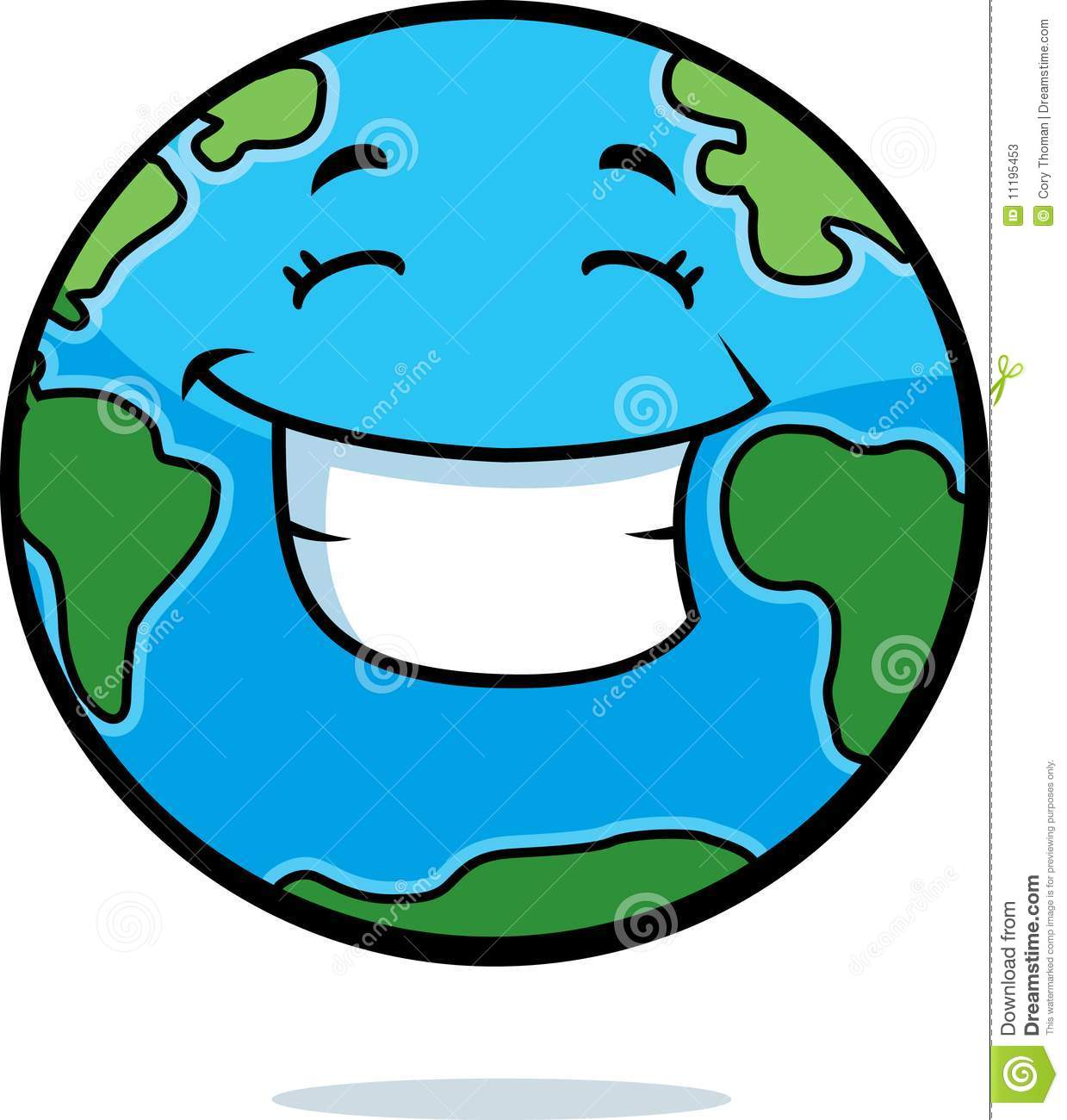 Earth Smiling Stock Photos   Image  11195453