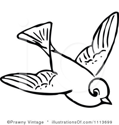 Fly Clipart Black And White Flying Birds Clipart Black And White 10