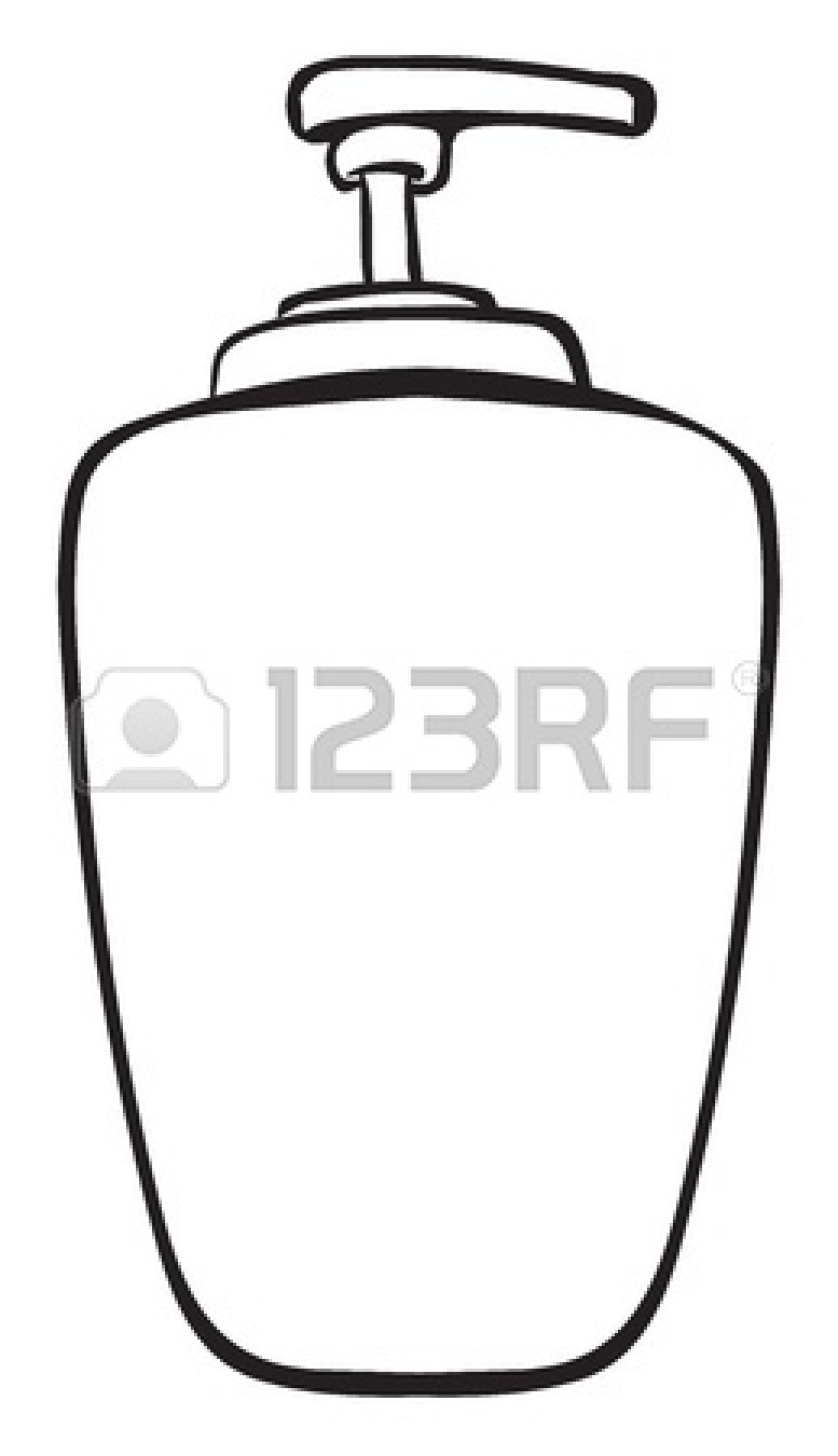 Glue Clipart Black And White Sunscreen Clipart Black And White