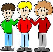 Group Of Friends Hanging Out Clipart   Clipart Panda   Free Clipart