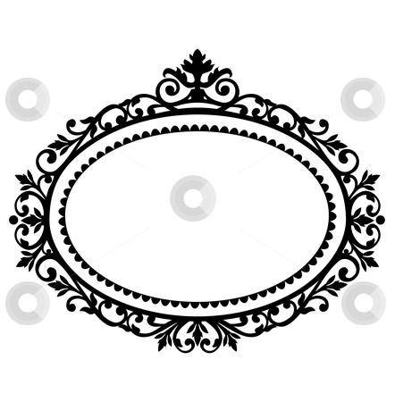 Vintage Black Photo Frame