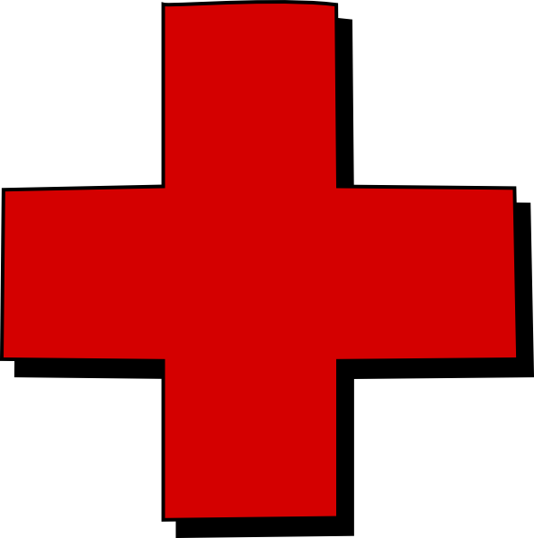 Red Cross Clip Art At Clker Com   Vector Clip Art Online Royalty Free