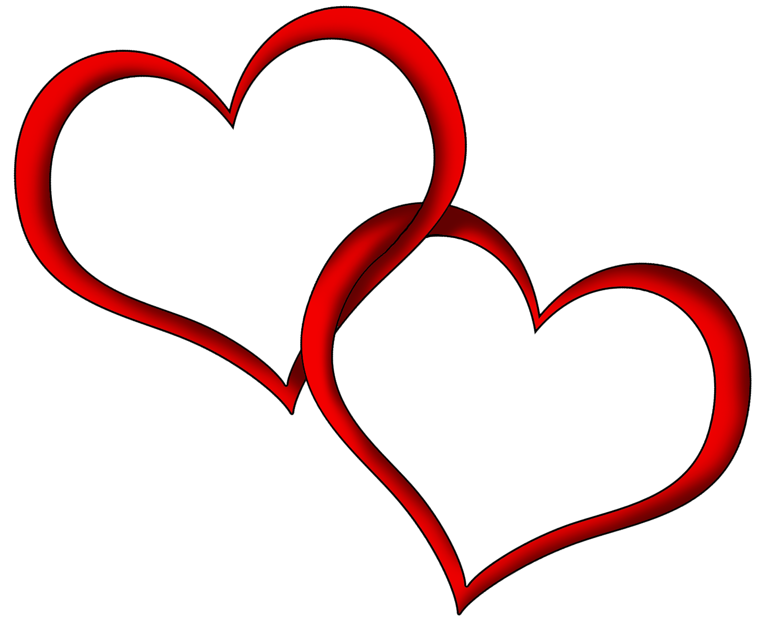 Red Heart Clip Art Free   Cliparts Co