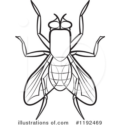 Royalty Free  Rf  House Fly Clipart Illustration By Lal Perera   Stock