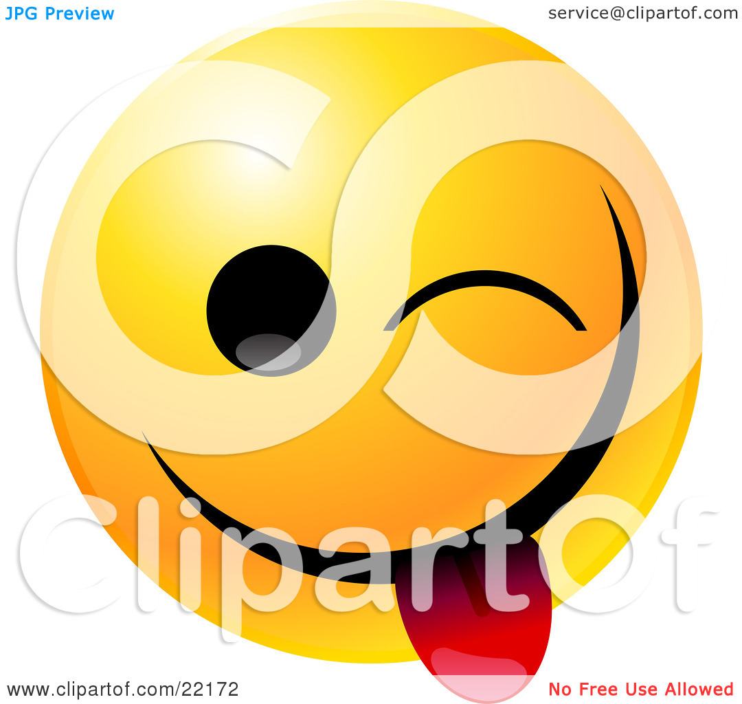 Smiley Face Clip Art Clipart Illustration Of A Yellow Emoticon Face