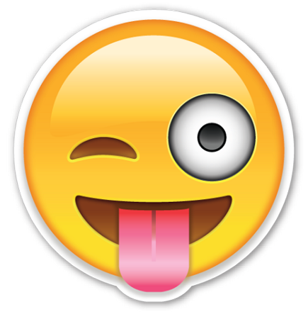 Smiley Face With Tongue Sticking Out 9t4erk8xc Png