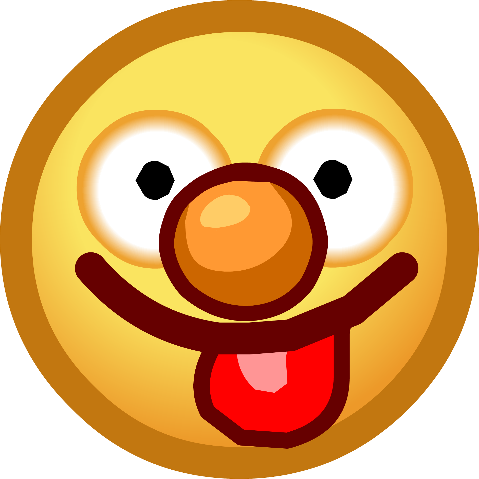Smiley Face With Tongue Sticking Out Muppets 2014 Emoticons Tongue Png