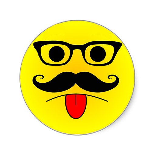 Smiley Face With Tongue Sticking Out Smiley Tongue Out Sticker1 Jpg