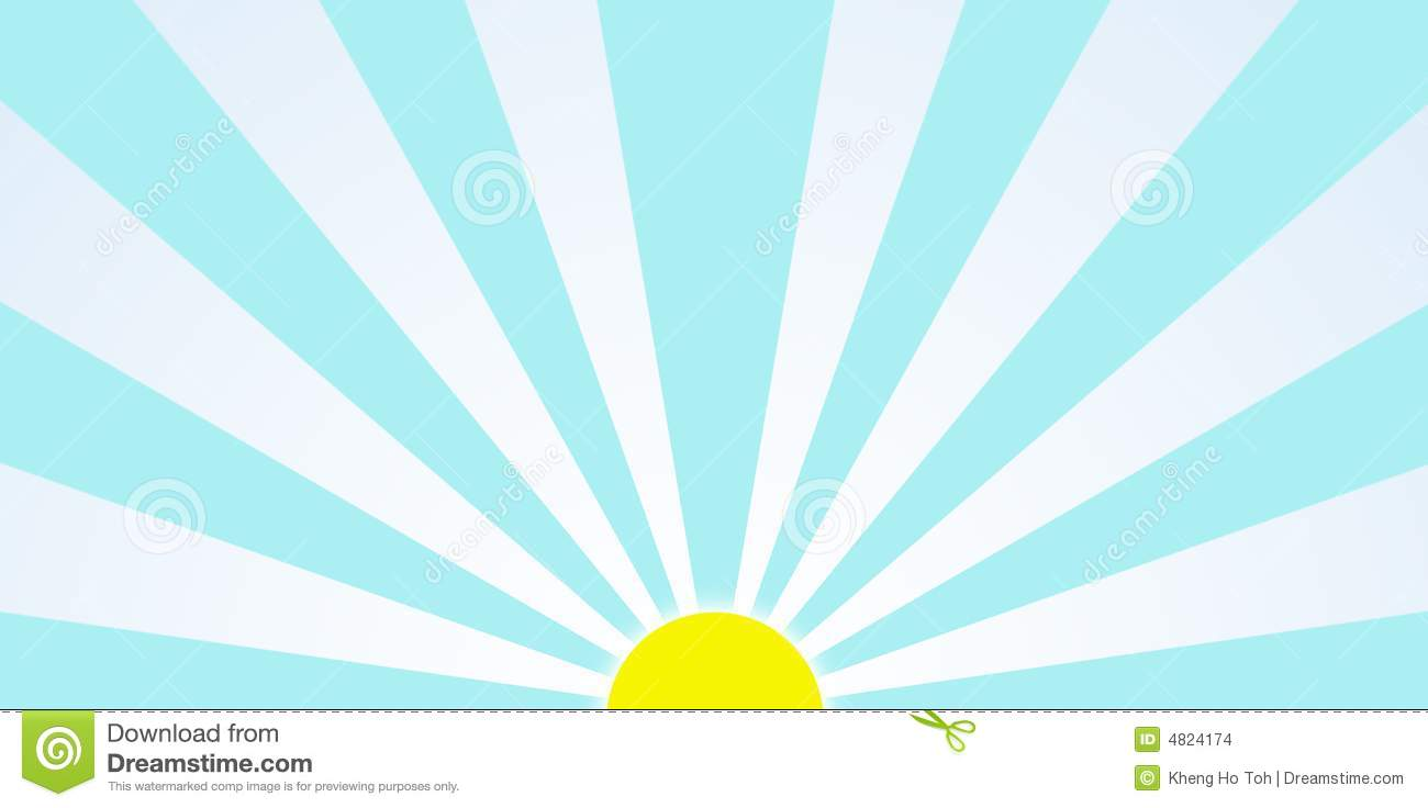 Sunrise In The Morning Generic Clipart