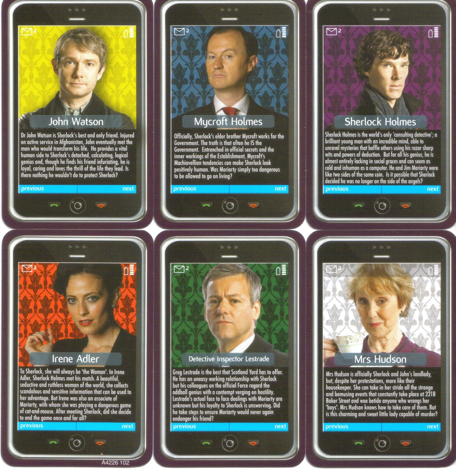 The Disgruntled Individual     Cluedo Sherlock Edition