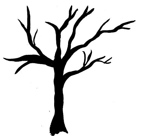 26 Simple Tree Silhouette Free Cliparts That You Can Download To You