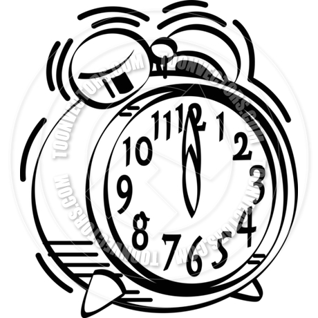 Alarm Clock Clipart Black And White   Clipart Panda   Free Clipart