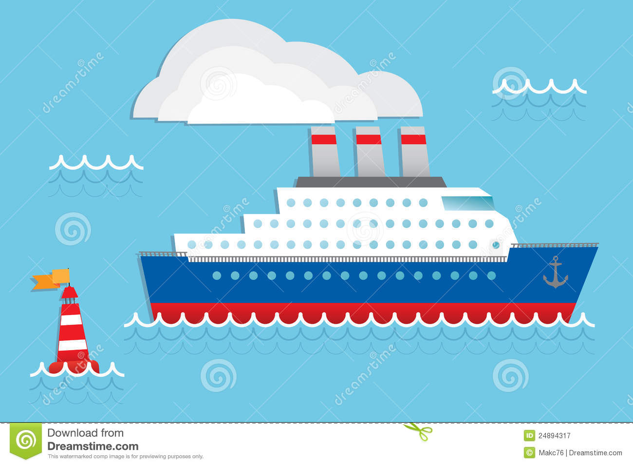 Back   Gallery For   Cartoon Cruise Ship Clip Art