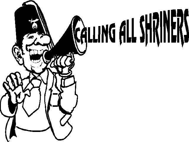 Calling All Shriners