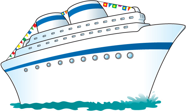 Cartoon Cruise Ship Clipart - Clipart Kid