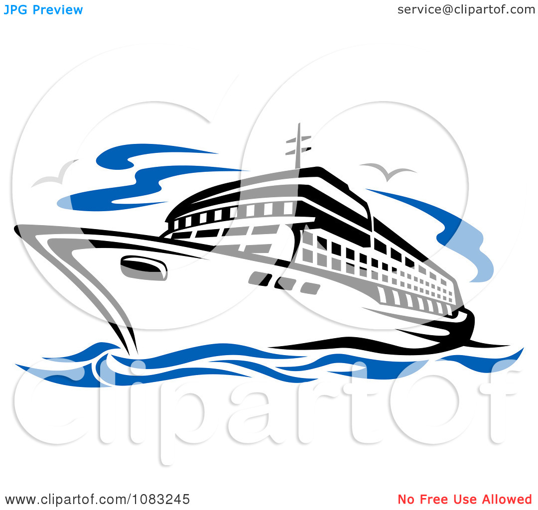 free clip art cartoon cruise ship - photo #20