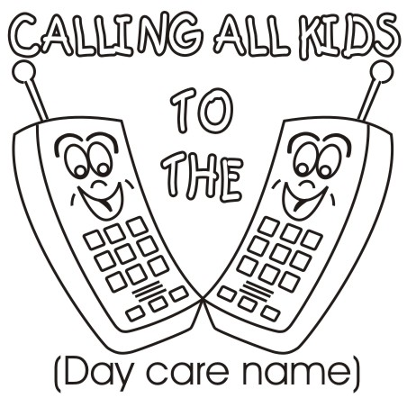 Clipart   Design Ideas  Clipart   Day Care   Calling All Kids