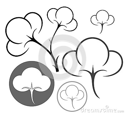 Cotton Boll Clipart Black And White Images   Pictures   Becuo